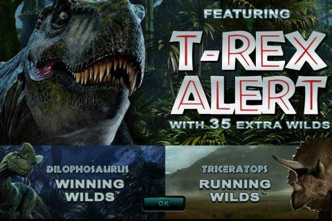 Online slot Jurassic Park vind je bij CasinoEuro