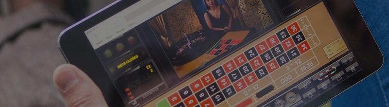In het live casino spelen kan ook op je tablet