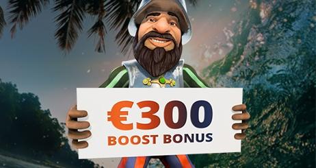 Oranje Casino Boost Bonus