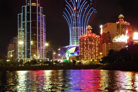Het Grand Lisboa Casino in Macau