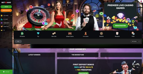 livecasino.nl review Betamo screenshot