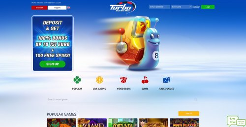 livecasino.nl review Turbo casino screenshot