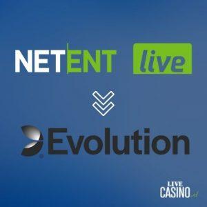 LiveCasino.nl post Netent Live wordt Evolution - featured image